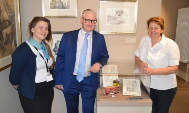 Banks Group Grant Helps New Mining Art Gallery Offer A Warm Welcome To Visitors
