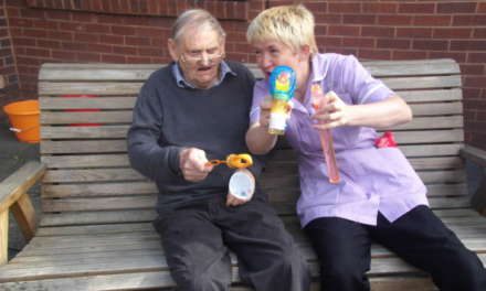 Water pistol shootout at Northumberland care home