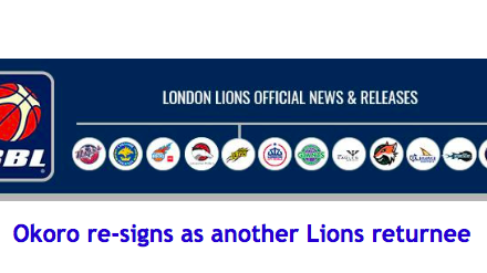 Okoro re-signs as another Lions returnee
