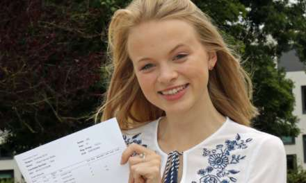 Clock-watching takes dyslexic Olivia to Durham University
