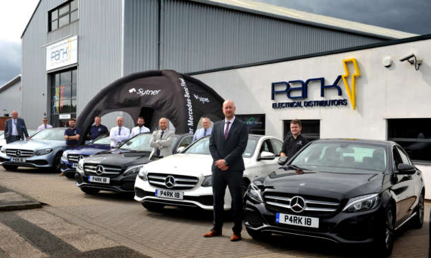 Green credentials with investment in new plug-in electric hybrid car fleet