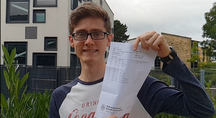 Josh engineers a bright future with GCSEs