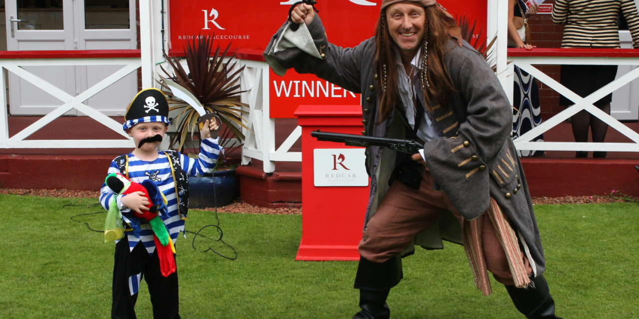 Pirates descend on Redcar Races