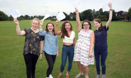 Three sets of twins and seven Oxbridge girls celebrate A-Levels at Ripon Grammar School
