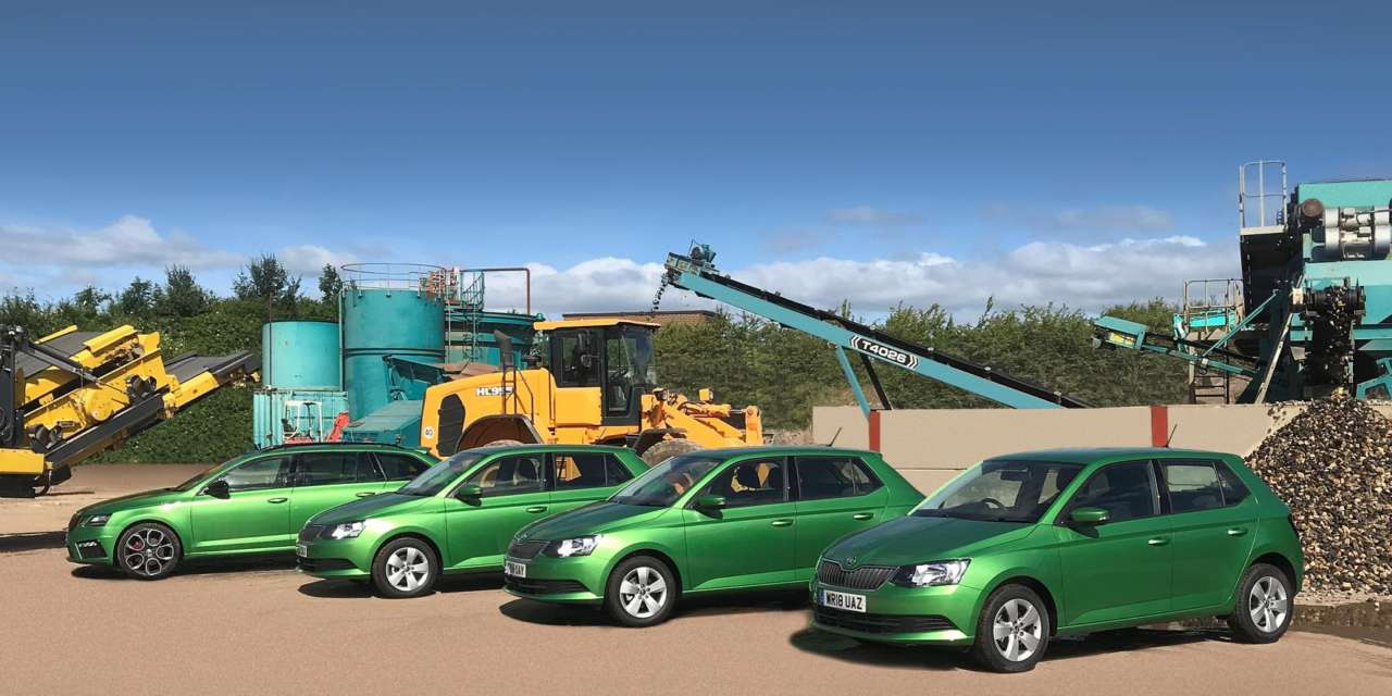 ŠKODA OFFERS THE COMPLETE PACKAGE FOR UTILITIES COMPANY