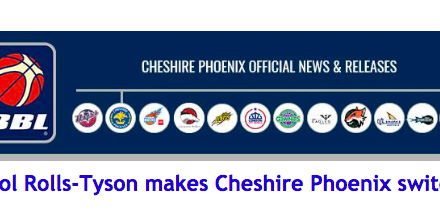 Sol Rolls-Tyson makes Cheshire Phoenix switch