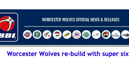 Worcester Wolves re-build with super six