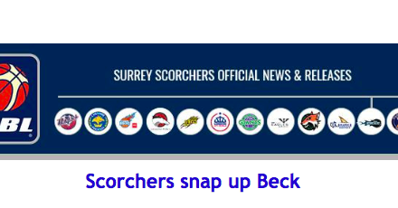Scorchers snap up Beck
