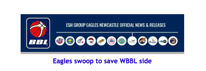 Eagles swoop to save WBBL side