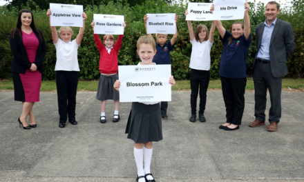 Local pupil inspires name for new housing development in Pegswood