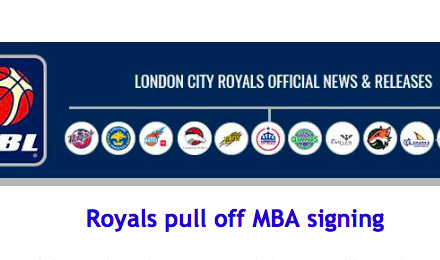 Royals pull off MBA signing