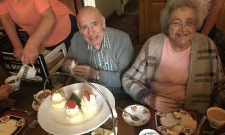 Teesside residents raise a cup for Afternoon Tea Week