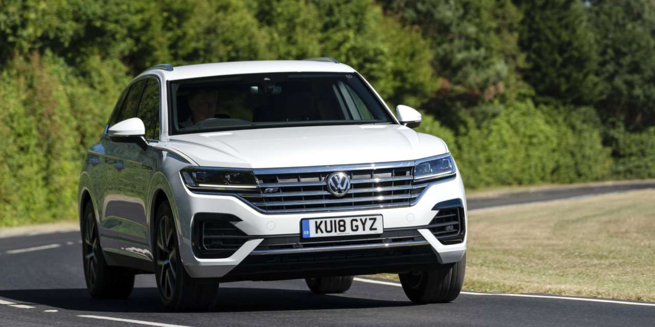 NEW ENGINE JOINS ALL-NEW VOLKSWAGEN TOUAREG RANGE