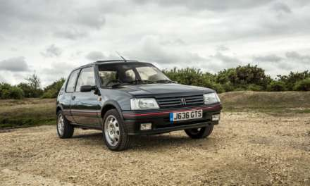 PEUGEOT 205 GTI REFURBISHED BY APPRENTICES TO APPEAR AT CARFEST SOUTH