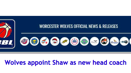 Wolves appoint Shaw as new head coach