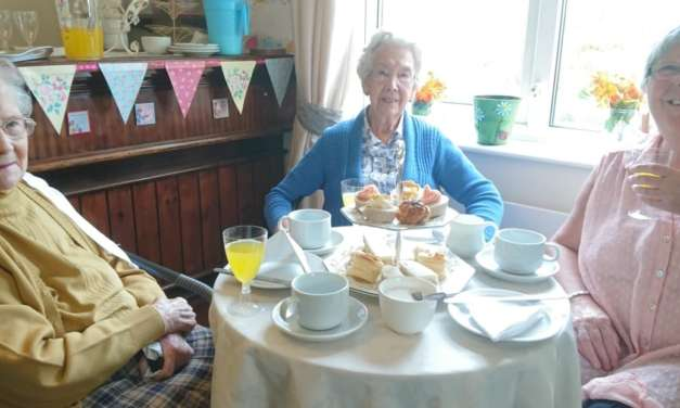 Peterlee care home marks Afternoon Tea Week