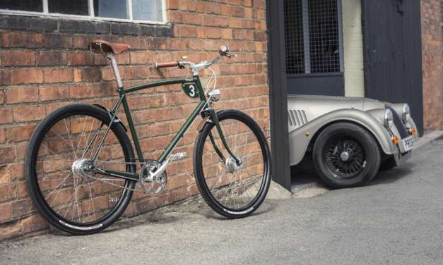 TWO ICONIC BRITISH COMPANIES, PASHLEY CYCLES AND MORGAN MOTOR COMPANY TO COLLABORATE ON RANGE OF HAND CRAFTED BICYCLES