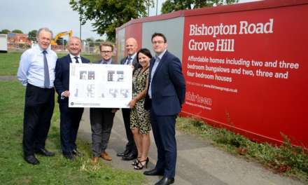 New affordable homes by Thirteen at Grove Hill in Middlesbrough