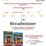 Oscar-nominated THE BREADWINNER releasing on DVD & Blu-ray Sept 24