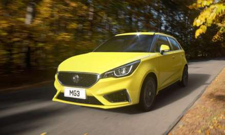 MG MOTOR UK UNVEILS FABULOUS NEW MG3