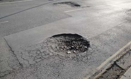 POTHOLE MANIA: ONE IN TWO IAM ROADSMART MEMBERS HAVE EXPERIENCED DAMAGE DUE TO POTHOLES, SAYS NEW SURVEY