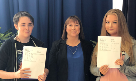 Record exam results at fast-improving Academy 360