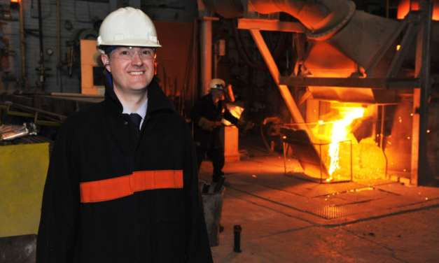 Materials Processing Institute's CEO to chair prestigious UK Steel event