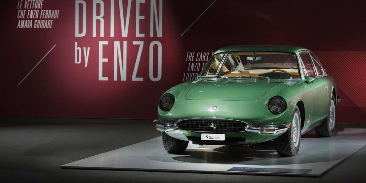 "AT THE FERRARI MUSEUM IN MARANELLO THE ""DRIVEN BY ENZO"" AND ""PASSION AND LEGEND"" EXHIBITIONS"