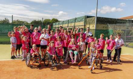 CHILDREN'S DISABILITY TRIATHLON SPONSORED BY SOS GROUP