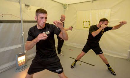 Boxers turn up the heat in University training chamber