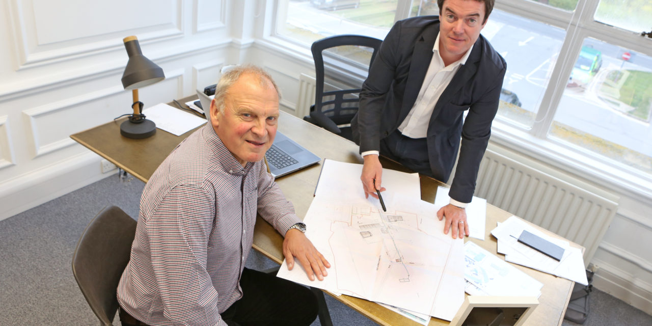 Entrepreneur lays foundations for new career at Lingfield Point