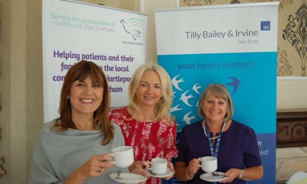 Law Firm's Afternoon Tea Raises £5,000 For Alice House Hospice