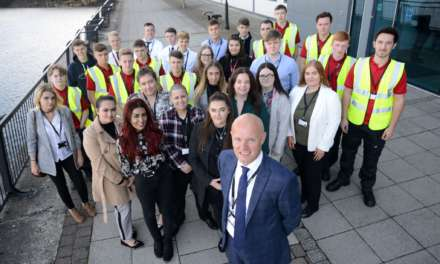 APPRENTICES BEGIN TO BUILD A BRIGHT FUTURE WITH THIRTEEN