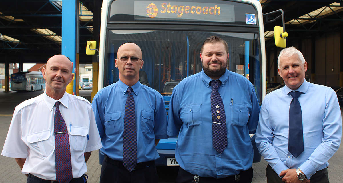 Stagecoach's Top Trio Help To Drive Up Standards