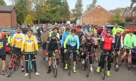 Pedal power raises funds for hospice