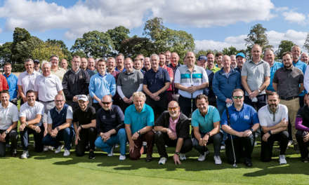 Golfers chip in £90,000 for hospice