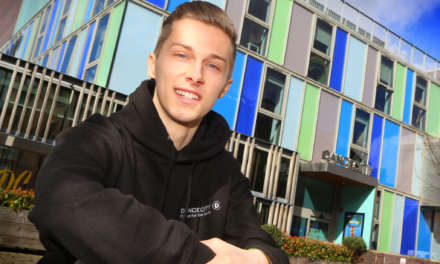 Award Winning Dancer Returns to Dance City as North East Youngsters Step Into His Shoes