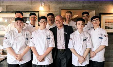 Nine new apprentices join hotel group's culinary academy