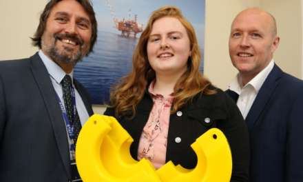 Rosalyn launches career with subsea apprenticeship