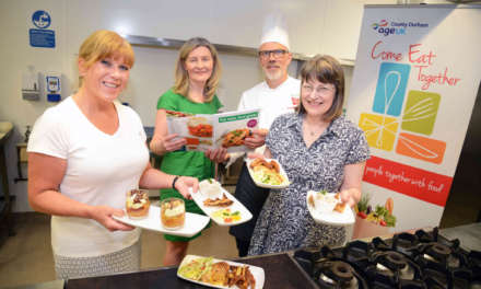 Recipe book for older people launched