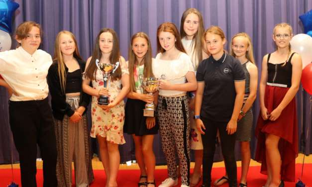 Sporty students recognised for their achievements on the field and track