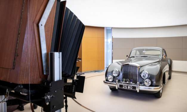 100 YEARS OF BENTLEY CAPTURED ON ICONIC CAMERA