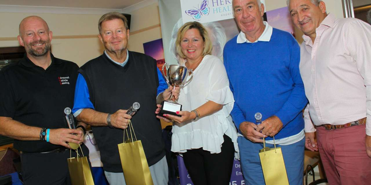 Golf event in full swing for helping hospice