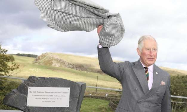 The Prince of Wales visits The Sill: National Landscape Discovery Centre on Hadrian's Wall