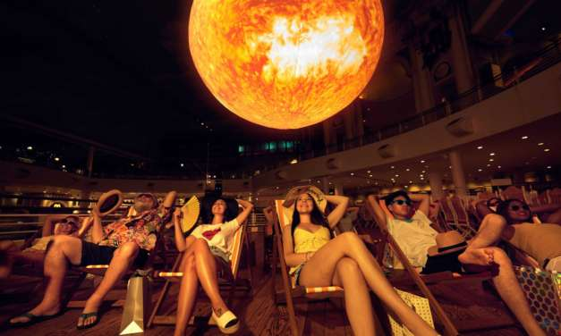 It's a scorcher at intu Metrocentre: Giant 'sun' created to extend the summer