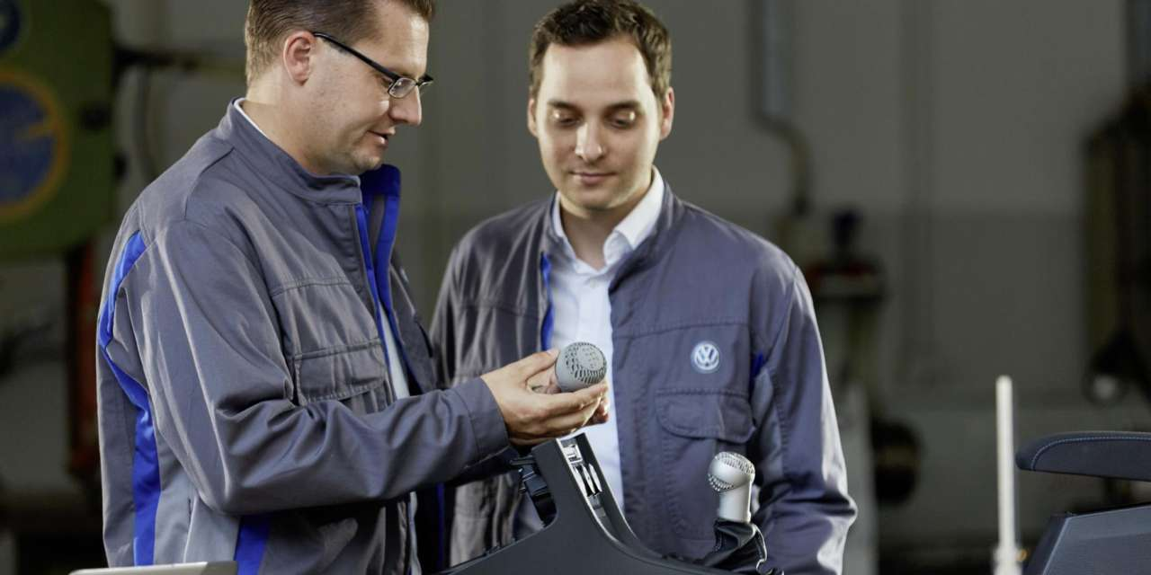 READY FOR MASS PRODUCTION: VOLKSWAGEN USES THE LATEST 3D PRINTING PROCESS FOR PRODUCTION