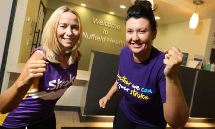 Healthcare professionals take on the Great North Run for the Stroke Association