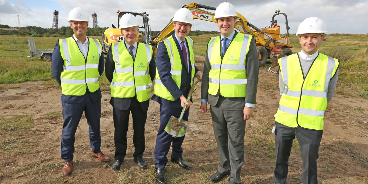 """Minister encourages manufacturers to """"Make it in Middlesbrough"""" as work begins on TeesAMP"""