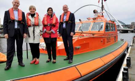 MARITIME MINISTER VISITS PORT OF TYNE