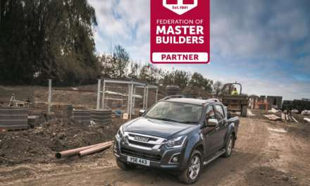 ISUZU UNVEILED AS HEADLINE SPONSORS OF THE 2019 MASTER BUILDER AWARDS